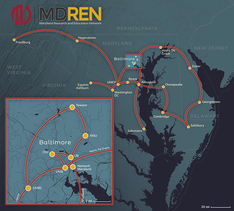 MDREN Map